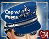 Blue Teal Cap