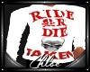 White Ride Or Die Taken