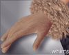 Suede Fur Gloves