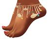 Boho Jeweled Feet