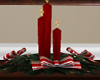 Xmas Candle Centerpiece