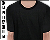 d|PS Basic Black T-shirt