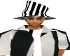 men jail bird hat