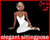 Elegant Sitting Pose