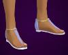 LT Blue Sandals