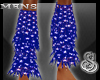 4th of July Legwarmers M
