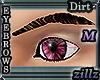 [zillz]M Brows Dk Brown