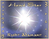 Hand Star – R Adamant