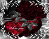 Two Hearts Rose Ily