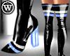 ⓦ RACE ME! Blue BOOTS