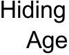 Hide age