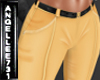 YELLOW JEANS BELTED RL