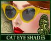 Cat Eye Shades Yellow