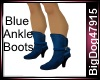[BD] Blue Ankle Boots