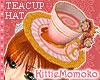 LOLITA Pink Teacup Hat 1