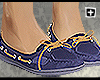 [+] Navy Boat Shoes |F