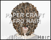 :|~PAPER CRAFT HUGE AFRO