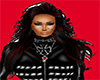 animated red&black hair
