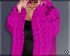 !© Chic Fur Coat Purple