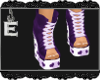 [e Heart U Shoes Purp