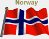 Norwegian Flag /w name