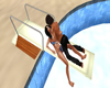 *E* POOL DIVING BOARD