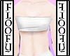 ☾ White Andro Top