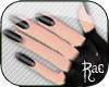 R: Layerable Black Nails