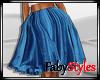 Blue Tutu Skirt