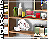 !Kitchen Shelves Stocked