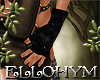 ~E- Lymeria Gloves Black