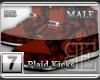 [BE] Red Plaid|Kicks M