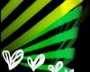 Green hearts!