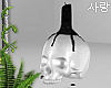 ♥ skull candle
