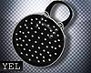 [Yel] Glam black bag