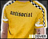 $ antisocial tee
