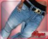 {r} Stem Blue Moto Jean