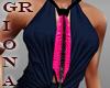 GR Pink Cancer tie