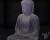 Tokyo Neon Buddha Statue