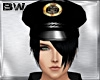 Black Police Hat