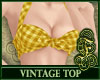 Vintage Top Yellow