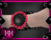Cranberry Sun Cuffs L