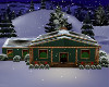Country Christmas Cabin