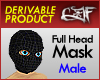 Derivable Full Head Mask