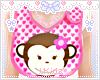Bib Monkey KIDS