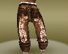 Evisu Red Baggy Jeans