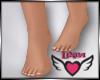 SoRoyal Bare Feet