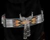 indian bead belt blk