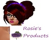 Red Rosie Heart Hair *RP
