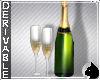 !Champagne + glasses